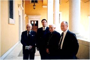 Michael Davies e Cardeal Ratzinger