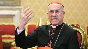 Cardeal Tarcisio Bertone.