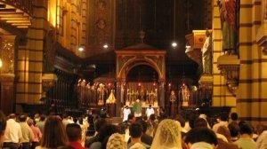Primeira missa após a entrada em vigor de Summorum Pontificum - 16 de setembro de 2007