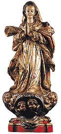 Eu sou a Imaculada Conceição.