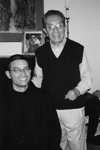 Dom Lourenço e seu pai, Dr. Julio Fleichman.