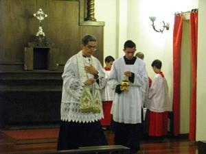 Padre João Batista - Consagração da Capela Santa Maria das Vitórias