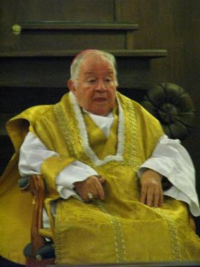 Dom Manoel Pestana Filho, bispo emérito de Anápolis (Goiás).