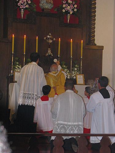 Consagração da Capela Santa Maria das Vitórias