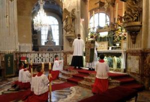 Missa em Saint Nicholas du Chardonnet