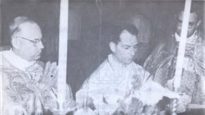 Sagração episcopal de Dom Antonio de Castro Mayer.