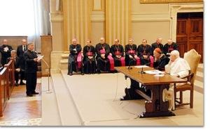 Encontro com sacerdotes de Roma