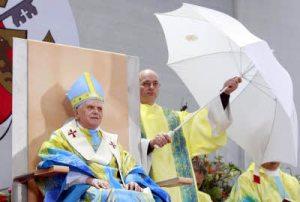 A humilhação do Sumo Pontifice