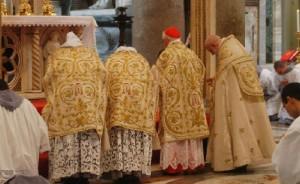Cardeal Cañizares em missa celebrada na última terça-feira na Basílica de São João de Latrão, em Roma.