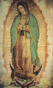 Nossa Senhora de Guadalupe.