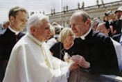 Padre Franz Schmidberger e o Papa