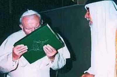 João Paulo II e Corão