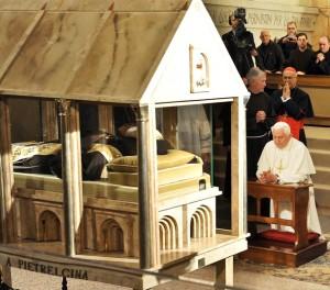 ITALY-POPE-PADRE PIO-BODY-RELIGION-BENEDICT XVI