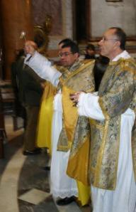 Pe. Almir de Andrade, Assistente da Fraternidade São Pedro, vigário da Paróquia Pessoal Santissima Trinità dei Pellegrini, em Roma, trabalha também na Comissão Ecclesia Dei.