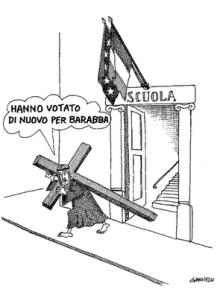 """""""Votaram de novo em Barrabás"""""""