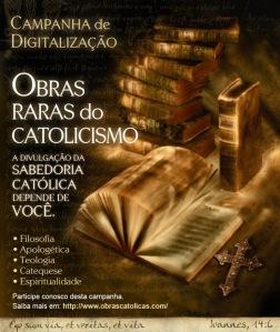 Obras raras do Catolicismo - Link para o site