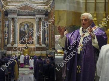 Papa celebra Versus Deum
