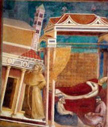 O sonho de Inocência III - Giotto