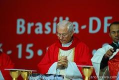 Dom Piero Marini no Congresso Eucarístico de Brasília - Maio de 2010.