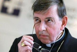 Dom Koch, novo presidente do Conselho Pontifício para a Promoção da Unidade dos Cristãos.