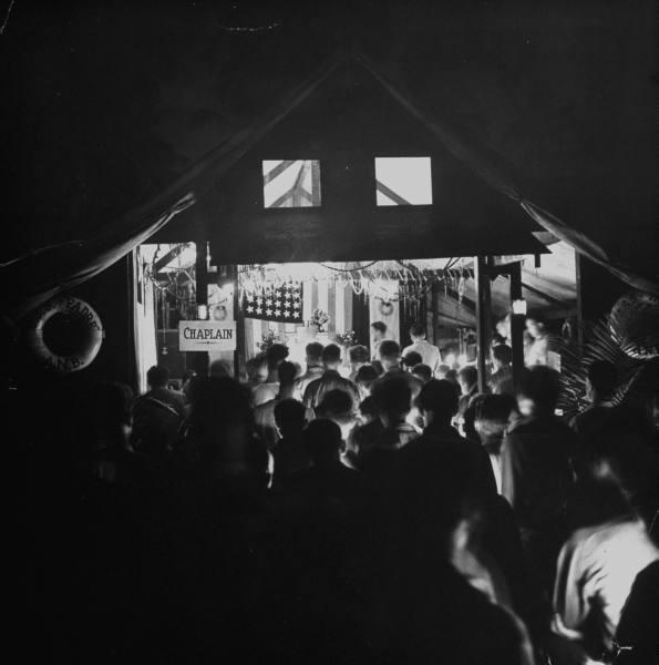 Missa de Natal - Guadalcanal, 1942