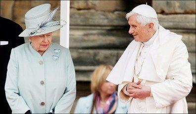 O Papa no Reino Unido: visita à Rainha Elizabeth II.