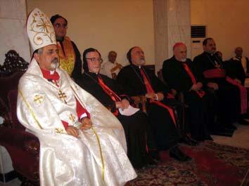 Dom Raboula Antoine Beylouni, bispo de Antioquia dos Sírios.
