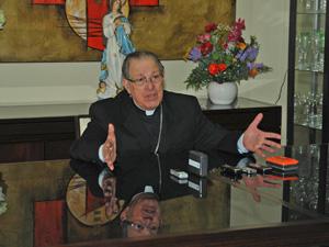 Bispo de Guarulhos, Dom Bergonzini, elevou o índice de confiança na Igreja após levar a defesa da vida e o discurso contra o aborto, para o período das eleições presidenciais