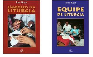 Algumas das obras de Ione Buist, OSB. Pelos títulos e fotos, já se pode imaginar o seu conteúdo.
