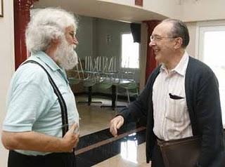 Leonardo Boff e Jon Sobrino.