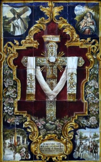 Eis aqui a árvore santa da Cruz na qual quis ser cravado o Redentor para a salvação do mundo