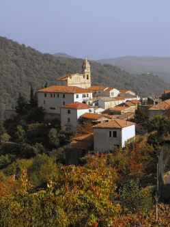 A pequena aldeia de Villatalla, na diocese italiana de Albenga-Imperia, onde os Beneditinos da Imaculada vivem e onde o pequeno campanário ainda convoca as pessoas para assistir à Missa Tradicional em Latim.
