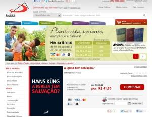 Lançamento de agosto de 2012 da Editora Paulus.