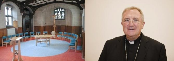 O novo secretário para o Culto Divino e uma capela por ele idealizada em sua diocese de origem.