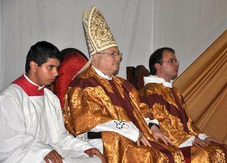 Dom Rogelio Livieres, bispo de Ciudad del Este.