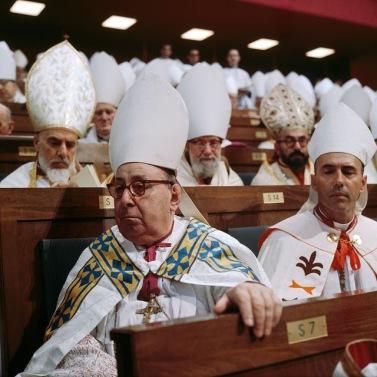 Bispos no Vaticano II.