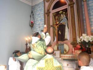 Santa Missa no Rito Carmelitano antigo celebrada ontem, domingo, 25 de novembro.