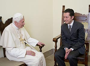 Papa visita Paolo Gabriele.