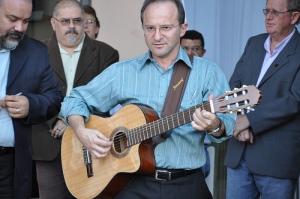 Assessor do Setor Música Litúrgica da Comissão Episcopal Pastoral para Liturgia da CNBB, Padre José Carlos Sala.