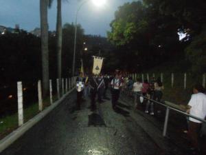Peregrinos chegam ao Santuário Nacional de Aparecida.