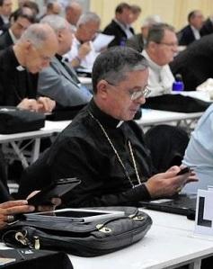 Dom Antonio Rossi Keller na Assembléia da CNBB.