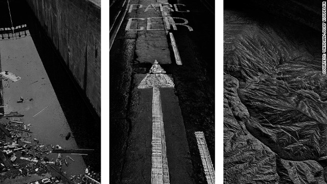 """O fotógrafo francês Josef Koudelka combinou uma série de seus trabalhos como uma meditação sobre a """"De-criação""""."""