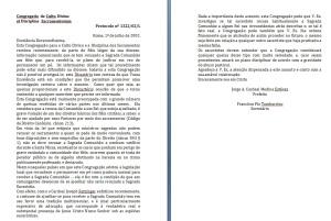 Carta da Congregação para o Culto Divino de 2002 - clique para ampliar.
