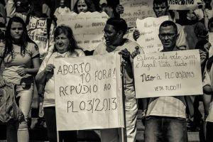 Sábado, 13 de julho de 2013: Manifestação em SP contra o PLC 3/2013.