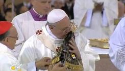 Francisco e Nossa Senhora Aparecida.