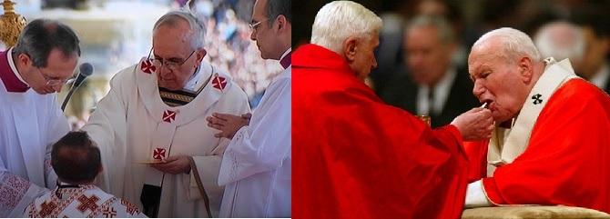 Estaria Dom Milton em comunhão com os Papas?