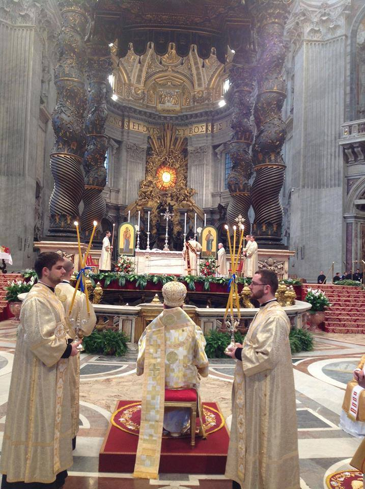 Sviatoslav-offering-Liturgy-at-St-Peters
