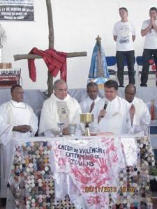 Dom Orani celebra missa em preparação para o Intereclesial das CEBs.