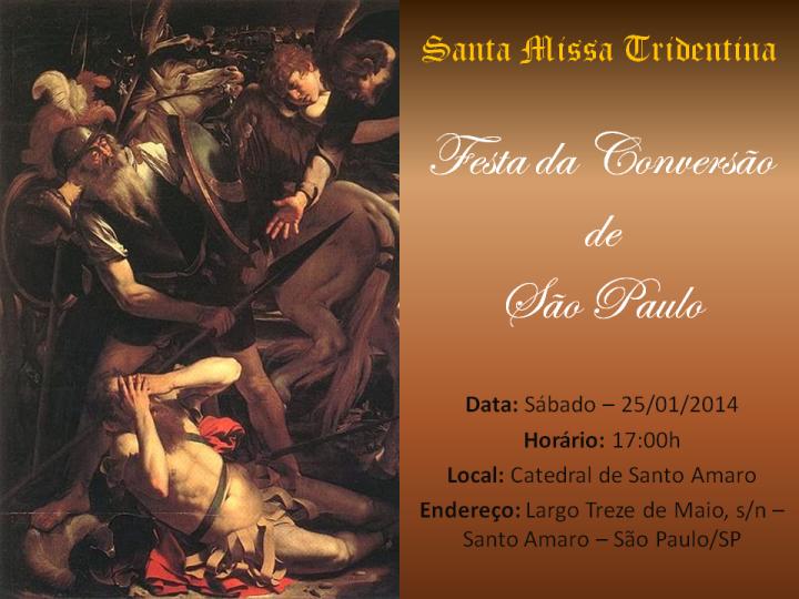 2- Festa da Conversao de Sao Paulo