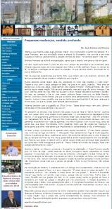 Artigo divulgado no site da Arquidiocese de Mariana.